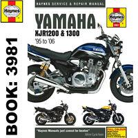 Yamaha XJR1200 XJR1300 1995-2006 Haynes Workshop Manual