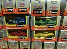 Burago Rally Car Models Boxed - 1:43 Scale Die Cast Metal - Many To Choose From!
