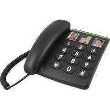 Doro PhoneEasy 331ph Schnurgebundenes Großtastentelefon schwarz