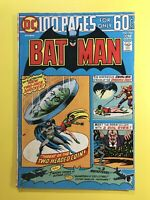 BATMAN #258 100 Pages - 2-Headed Coin, 3 Evil Eyes, 3 Racketeers & more! DC 1974