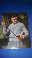 Sirdar Men's Jacket Knitting Pattern 1398