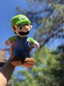 Super Mario Bro. Luigi Plush Toy Doll Stuffed Birthday Gift Teddy 25cm