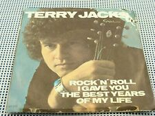 TERRY JACKS - Rock And Roll ( I Gave You...) N/MINT 45 w/CANADA RARE Pic. Sleeve