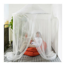IKEA SOLIG Net Bed Canopy Fly Mosquito Insect Netting 150(D) x 300(H)cm in White