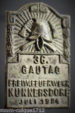 Veranstaltungsabzeichen 36.Gautag Feuerwehr Kunnersdorf 1924
