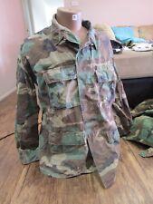 U.S. Army Issue Woodland Cam Shirts.