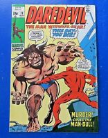 DAREDEVIL #79 MARVEL BRONZE AGE COMIC BOOK 1971 ~ FN+