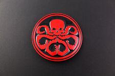 CAPITAN AMERICA Hydra Rosso Fibbia della Cintura il Avengers Shield Marvel Superhero