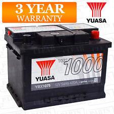 Yuasa Car Battery Calcium Open Vent 470CCA 54Ah T1 For RENAULT Clio MK2 1.5 dCi