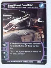 Star Wars TCG - BOY - Rebel Ground Crew Chief 30/105  NM/Mint