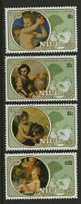 Niue  1982   Scott #   360-363     Mint Never Hinged Set