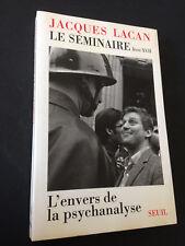 JACQUES LACAN - LE SÉMINAIRE, LIVRE XVII - L'ENVERS DE LA PSYCHANALYSE -LE SEUIL