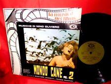 NINO OLIVIERO Mondo cane N°2 OST LP 1980 ITALY MINT-