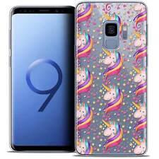 "Coque Crystal Gel Pour Samsung Galaxy S9 (5.8"") Souple Fantasia Licorne Etoilée"