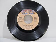 "45 RECORD 7""- DONNA SUMMER - DIM ALL THE LIGHTS"