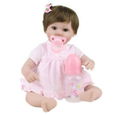 Reborn Baby Doll 18inch Realistic Silicone Reborn Baby can take a pacifier