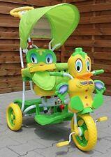 Kinder Dreirad-Schaukelsitz 2 In 1 Ente Kinderwagen - Grün