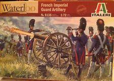 Soldatini 1/72 FRENCH IMPERIAL GUARD ARTILLERY,  Napoleonic wars - ITALERI 6135