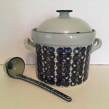 Royal Copenhagen Denmark Tenera Soup Tureen & Ladle 460/3249 & 449/3271 Fajance
