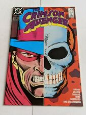 The Crimson Avenger #4 September 1988 DC Comics Limited Series