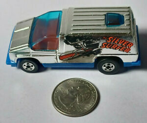 Silver Surfer Inside Story Chrome The Heroes Hot Wheels Rare Vintage