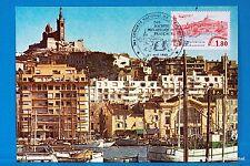 MARSEILLE LE VIEUX PORT   FRANCE  Carte Postale Maximum FDC Yt C 2273