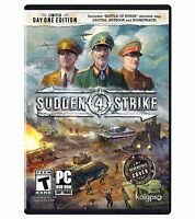 Sudden Strike 4 (PC WWII Game) Day One Edition - New Sealed