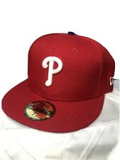 Philadelphia Phillies New Era 59FIFTY Size 7 1/4 BaseBall Cap MLB New Official