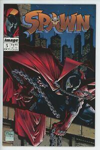 Spawn #5 Image Comics 1992 by Todd McFarlane large scans 9.6