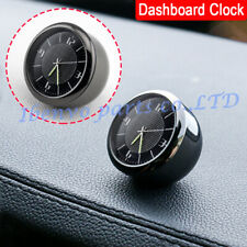Solid Car Dashboard Titanium Florescent Pointer 60 Scale Digital Clock Watch