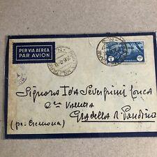 F) Bustavia aerea colonie Libia franchigia posta militare 3 1942