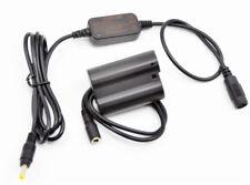 12V step-down dc cable EN-EL15 EP-5B dummy battery for Nikon D850 D610 Z6 Z7