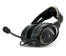 Bose A20 Aviation Headset with Bluetooth - Straight Cord - 5-Pin XLR