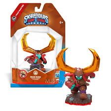 NEW HOT Skylanders Trap Team Master HEAD RUSH Action Figure Earth Element RARE
