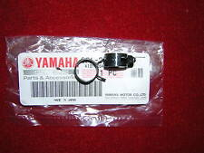 Yamaha TZ250 91-99, Front Reservoir Hose Clips.  Genuine Yamaha. New (b24A)