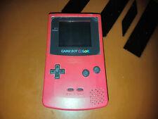## Original Nintendo Gameboy Color Console IN Pink - Top Condition##