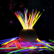 100 Braccialetti Luminosi Starlight Fluorescenti Bracciali Disco Fluo Dj 601