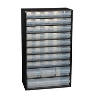 Raaco 126762 steel frame 44 drawer compartment storage cabinet * Free shipping *