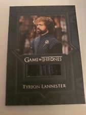 Game of Thrones Inflexions Relic Costume Card VR10 Tyrion Lannister Shirt