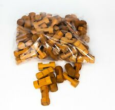 Lincoln Logs 100 Short Pieces 1 1/2