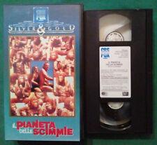 VHS FILM Ita Fantascienza IL PIANETA DELLE SCIMMIE fox silver & gold no dvd(VH82