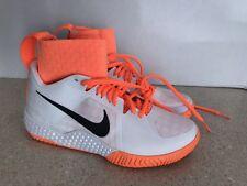 Nike Air Court Flare Serena Williams Tennis Shoes Womens 5 Orange/Wht 810964-102