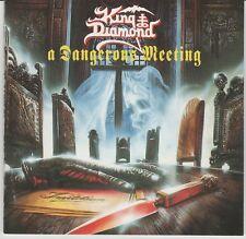 King Diamond CD, A Dangerous Meeting, Original 1992 Roadrunner, Mercyful Fate