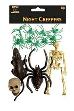 Halloween Night Creepers Set (12 Piece)  - Party Decoration - Spooky Scary  New