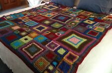 Hand Crocheted Babette Blanket, Made To Order, Customizable, Queen Size! New!