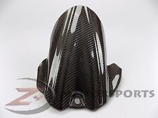 2006-2010 GSXR600 GSXR750 Rear Tire Hugger Mud Guard Fairing 100% Carbon Fiber