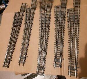 Atlas #283 HO Nickel Silver Rail Code100 Mark 3 Turn-out #6 Left - Used