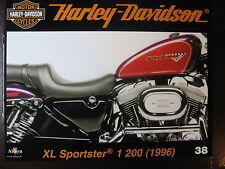 FASCICULE 38  HARLEY DAVIDSON XL SPORTSTER 1200  / MOD CHOPPER II / ENTHUSIAST