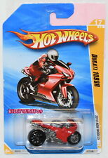HOT WHEELS 2010 NEW MODELS DUCATI 1098R RED