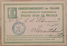 Mayfairstamps Finland 1875 Kupe Exped Finska Stationery Card wwk60681